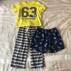 Carter's Toddler Boy 3 Piece Pajama Set